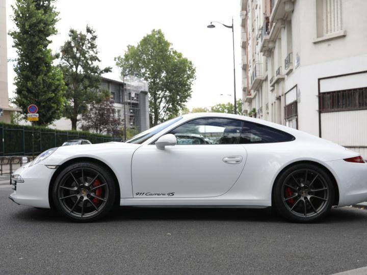 Porsche 991 991 CARRERA 4S X51 430CV PDK Blanc - 11