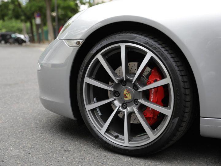 Porsche 991 991 CARRERA S 3.8 400CV CABRIOLET Gris Gt - 4