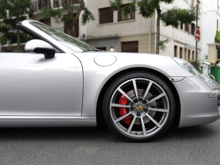 Porsche 991 991 CARRERA S 3.8 400CV CABRIOLET Gris Gt - 12