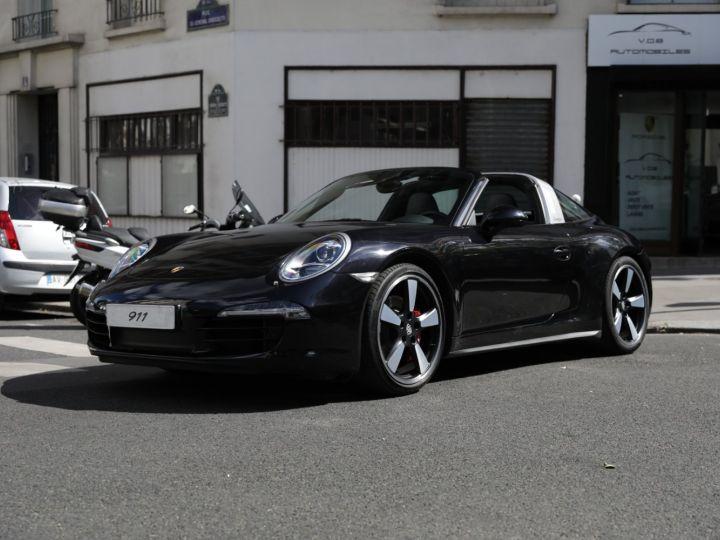 Porsche 991 991 TARGA 4S PDK  NOIR INTENSE - 4