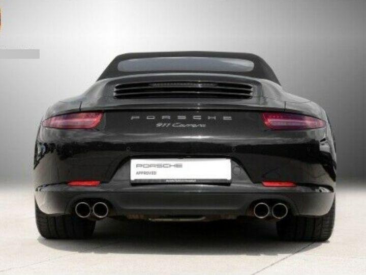 Porsche 991 Cabriolet 3.4  350 Carrera  PDK (Pack chrono) noir métal - 4