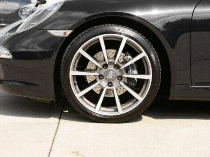Porsche 991 Cabriolet 3.4  350 Carrera  PDK (Pack chrono) noir métal - 5