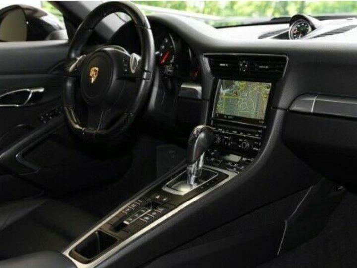 Porsche 991 Cabriolet 3.4  350 Carrera  PDK (Pack chrono) noir métal - 10
