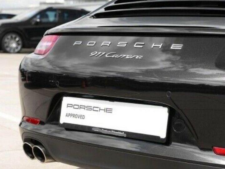 Porsche 991 Cabriolet 3.4  350 Carrera  PDK (Pack chrono) noir métal - 12