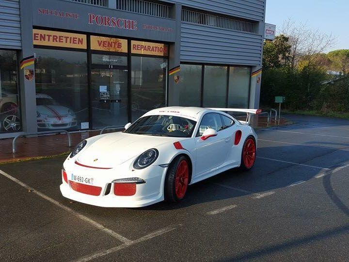 Porsche 991 GT3 RS Blanche - 3