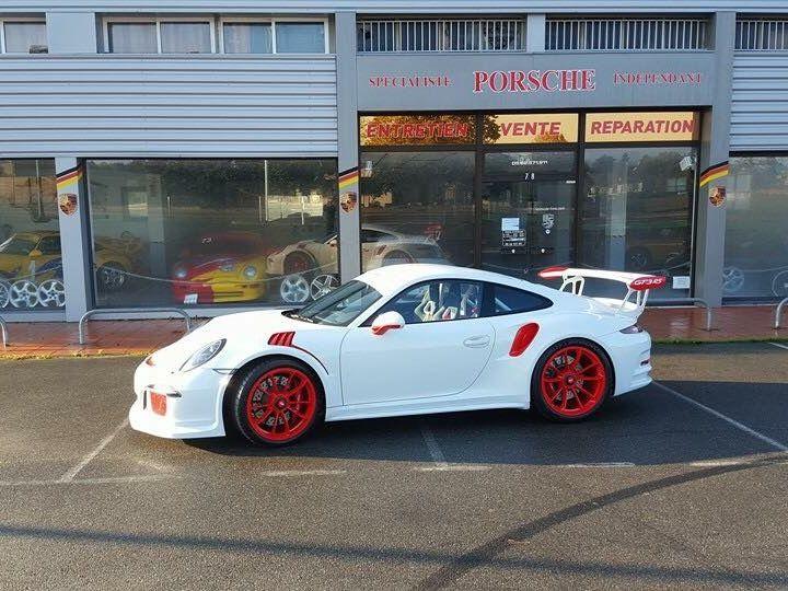 Porsche 991 GT3 RS Blanche - 4