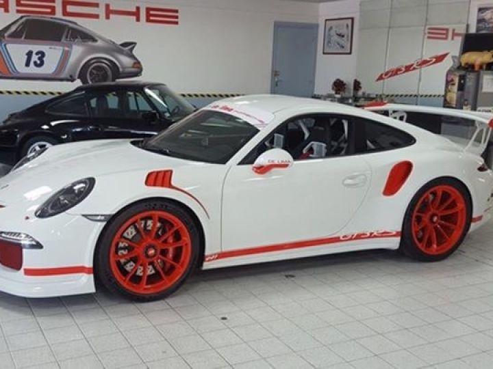 Porsche 991 GT3 RS Blanche - 5