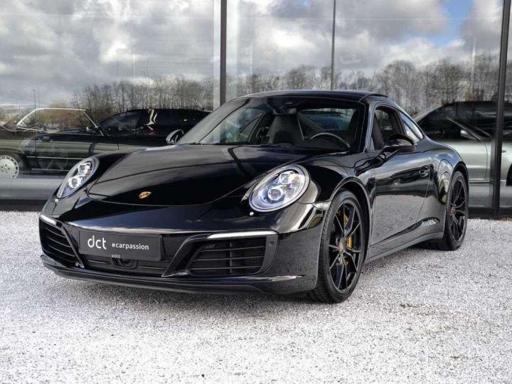 Porsche 991 Porsche 991 4S PCCB 420 CV/FEINS CERAMIQUE/ GARANTIE 12 MOIS Noir - 1