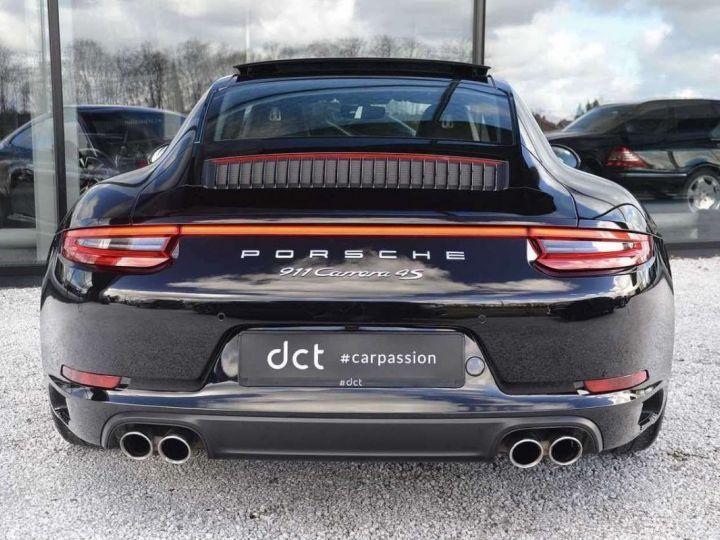 Porsche 991 Porsche 991 4S PCCB 420 CV/FEINS CERAMIQUE/ GARANTIE 12 MOIS Noir - 8