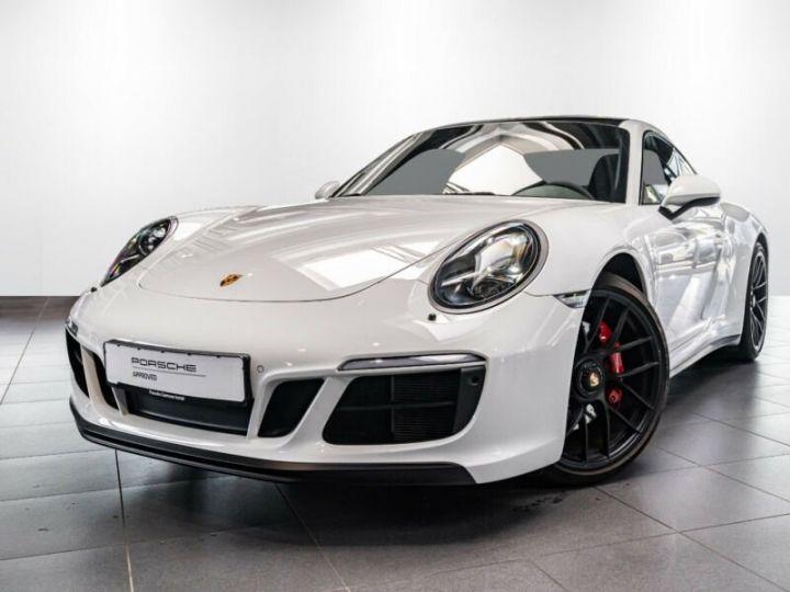 Porsche 991 Porsche 991 (911) Carrera 4 GTS   Essieu avant relevable blanc - 1