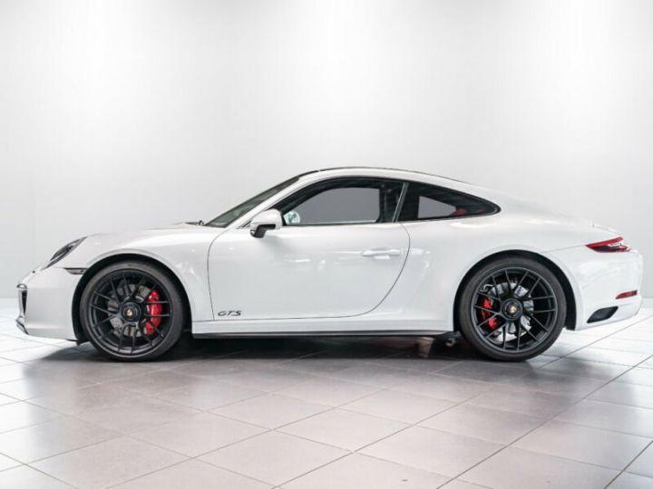 Porsche 991 Porsche 991 (911) Carrera 4 GTS   Essieu avant relevable blanc - 3
