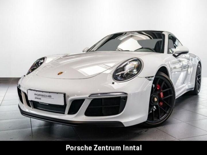 Porsche 991 Porsche 991 (911) Carrera 4 GTS   Essieu avant relevable blanc - 11