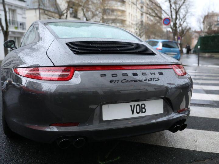 Porsche 991 PORSCHE 991 CARRERA 4 GTS 430CV PDK 27000KMS Gris Quartz - 7
