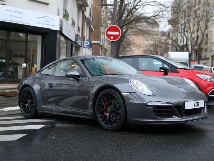 Porsche 991 PORSCHE 991 CARRERA 4 GTS 430CV PDK 27000KMS Gris Quartz - 10