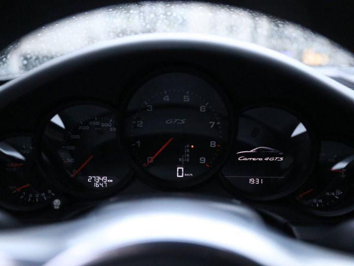 Porsche 991 PORSCHE 991 CARRERA 4 GTS 430CV PDK 27000KMS Gris Quartz - 11