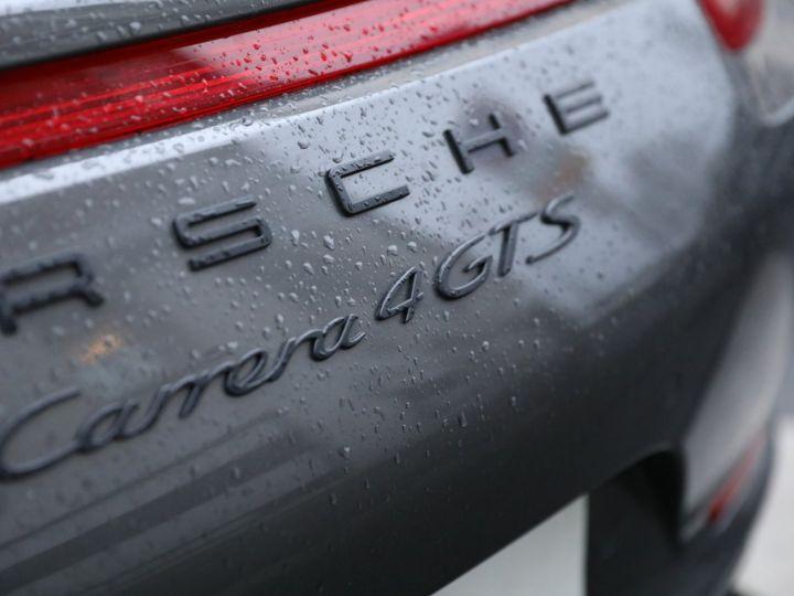 Porsche 991 PORSCHE 991 CARRERA 4 GTS 430CV PDK 27000KMS Gris Quartz - 19