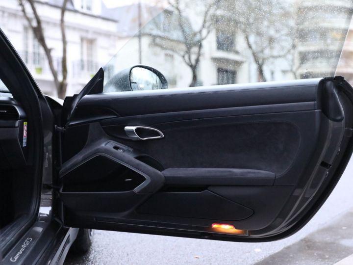 Porsche 991 PORSCHE 991 CARRERA 4 GTS 430CV PDK 27000KMS Gris Quartz - 28