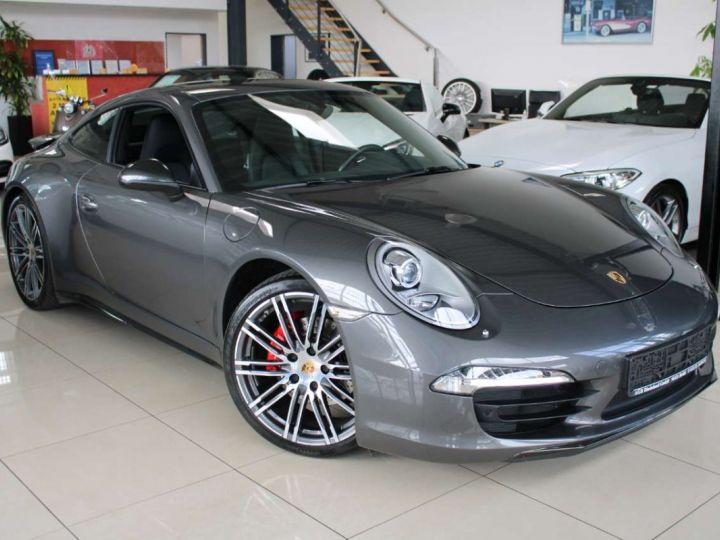 Porsche 991 Porsche 991 CARRERA 4 PDK 350CV/ PASM/CAMERA 360/GARANTIE 12 MOIS Gris  - 1