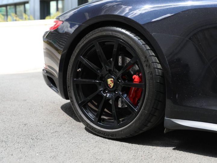 Porsche 991 PORSCHE 991 CARRERA 4S 3.0 420CV /PSE/ CHRONO/ FRANCE / FULL / APPROVED 07:2022 Noir - 2