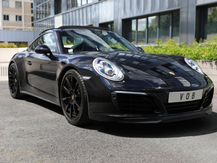 Porsche 991 PORSCHE 991 CARRERA 4S 3.0 420CV /PSE/ CHRONO/ FRANCE / FULL / APPROVED 07:2022 Noir - 1