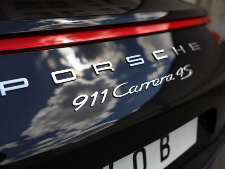 Porsche 991 PORSCHE 991 CARRERA 4S 3.0 420CV /PSE/ CHRONO/ FRANCE / FULL / APPROVED 07:2022 Noir - 10