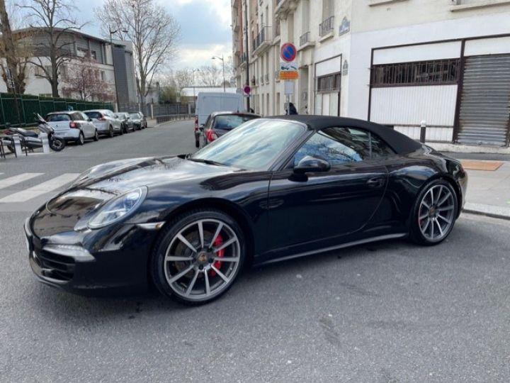 Porsche 991 PORSCHE 991 CARRERA 4S CABRIOLET 48700 KMS/ CHRONO/PSE/VENTILES/ FULL Noir - 1