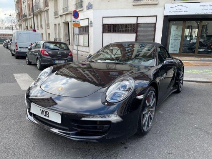 Porsche 991 PORSCHE 991 CARRERA 4S CABRIOLET 48700 KMS/ CHRONO/PSE/VENTILES/ FULL Noir - 3