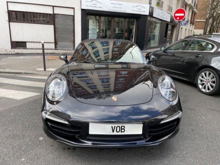 Porsche 991 PORSCHE 991 CARRERA 4S CABRIOLET 48700 KMS/ CHRONO/PSE/VENTILES/ FULL Noir - 4