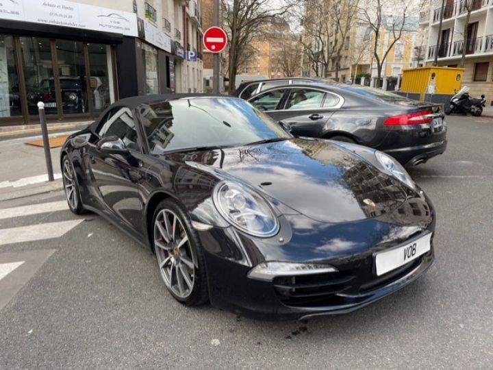 Porsche 991 PORSCHE 991 CARRERA 4S CABRIOLET 48700 KMS/ CHRONO/PSE/VENTILES/ FULL Noir - 5