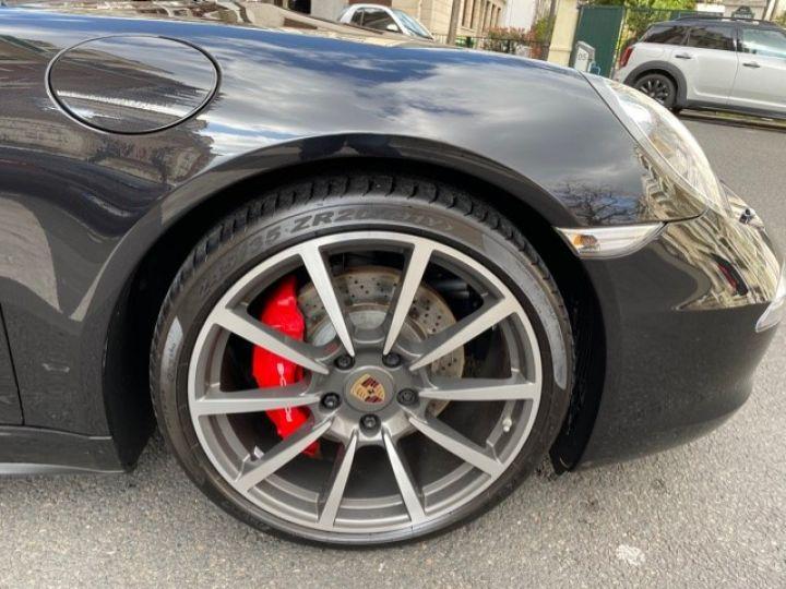 Porsche 991 PORSCHE 991 CARRERA 4S CABRIOLET 48700 KMS/ CHRONO/PSE/VENTILES/ FULL Noir - 10