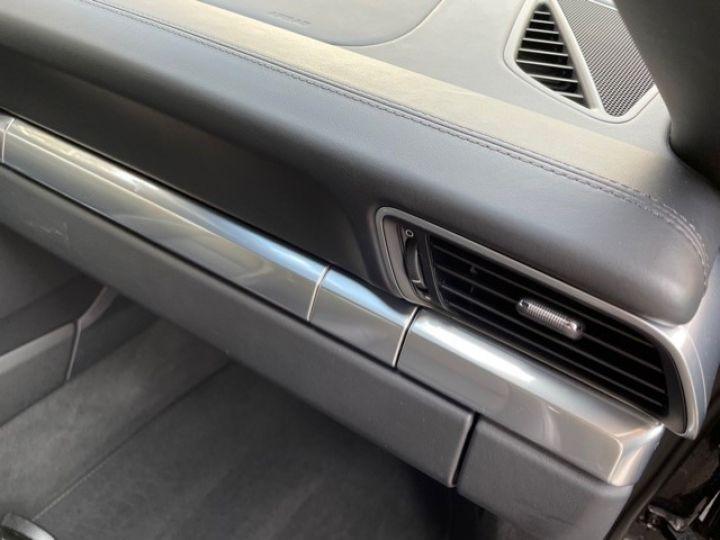 Porsche 991 PORSCHE 991 CARRERA 4S CABRIOLET 48700 KMS/ CHRONO/PSE/VENTILES/ FULL Noir - 12