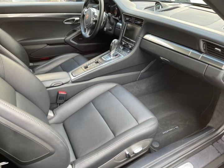 Porsche 991 PORSCHE 991 CARRERA 4S CABRIOLET 48700 KMS/ CHRONO/PSE/VENTILES/ FULL Noir - 13
