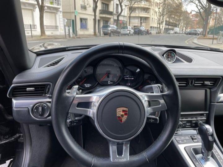 Porsche 991 PORSCHE 991 CARRERA 4S CABRIOLET 48700 KMS/ CHRONO/PSE/VENTILES/ FULL Noir - 18