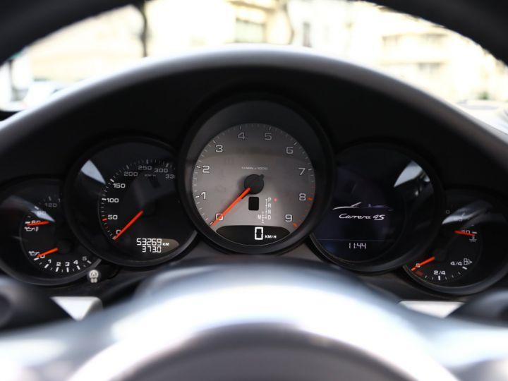 Porsche 991 PORSCHE 991 CARRERA 4S CABRIOLET / APPROVED 10/2022 Argent Rodhium - 32
