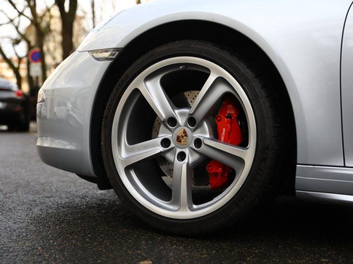 Porsche 991 PORSCHE 991 CARRERA 4S CABRIOLET / APPROVED 10/2022 Argent Rodhium - 3