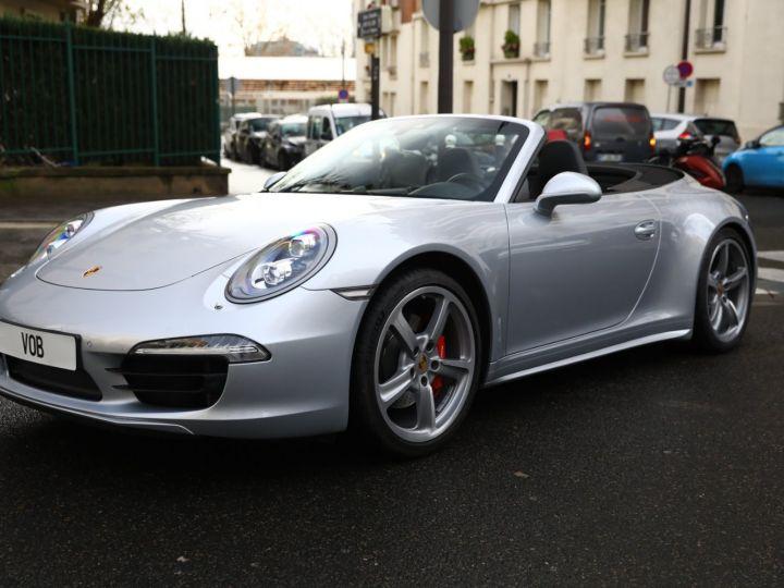 Porsche 991 PORSCHE 991 CARRERA 4S CABRIOLET / APPROVED 10/2022 Argent Rodhium - 1
