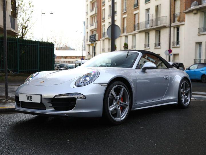 Porsche 991 PORSCHE 991 CARRERA 4S CABRIOLET / APPROVED 10/2022 Argent Rodhium - 7