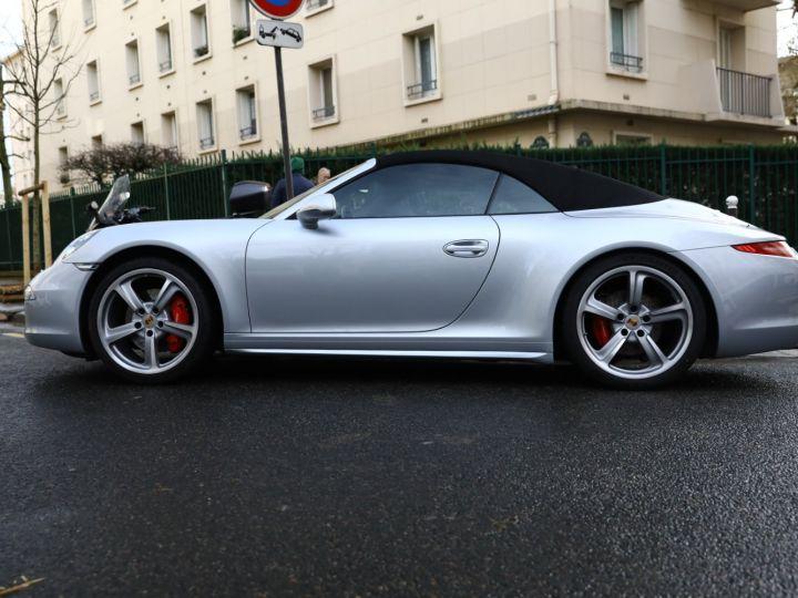Porsche 991 PORSCHE 991 CARRERA 4S CABRIOLET / APPROVED 10/2022 Argent Rodhium - 5