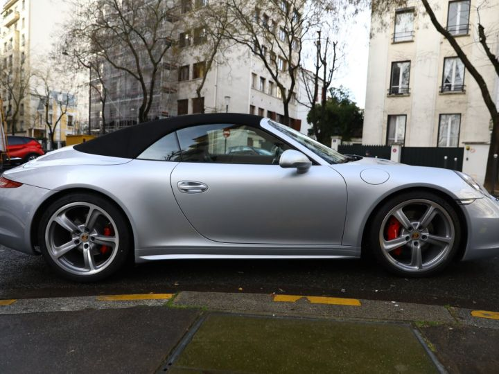 Porsche 991 PORSCHE 991 CARRERA 4S CABRIOLET / APPROVED 10/2022 Argent Rodhium - 13