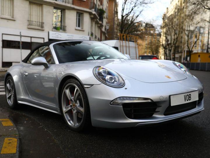 Porsche 991 PORSCHE 991 CARRERA 4S CABRIOLET / APPROVED 10/2022 Argent Rodhium - 6
