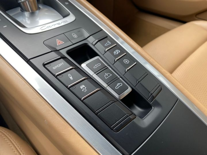 Porsche 991 PORSCHE 991 CARRERA 4S CABRIOLET PDK 3.8 400CV 52000 KMS Antharcite Brown - 12