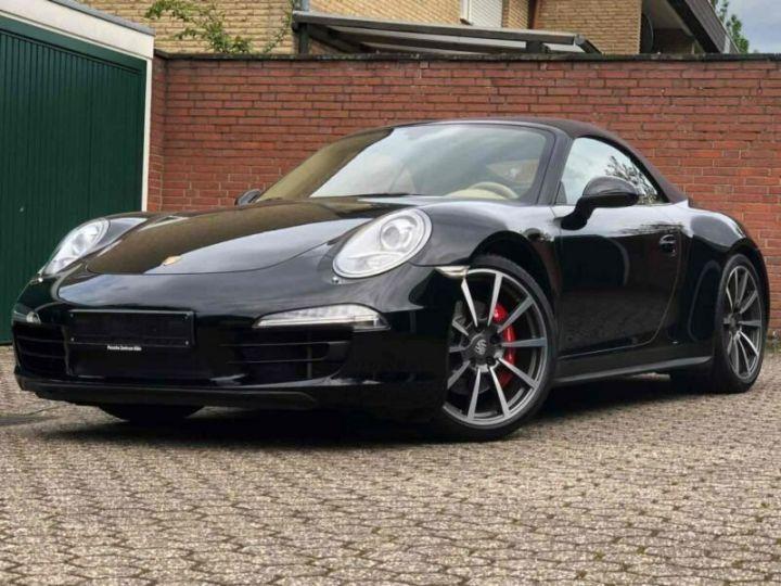 Porsche 991 Porsche 991 Carrera 4S Cabriolet/PDK/PCM/GARANTIE 12 MOIS Noir - 1