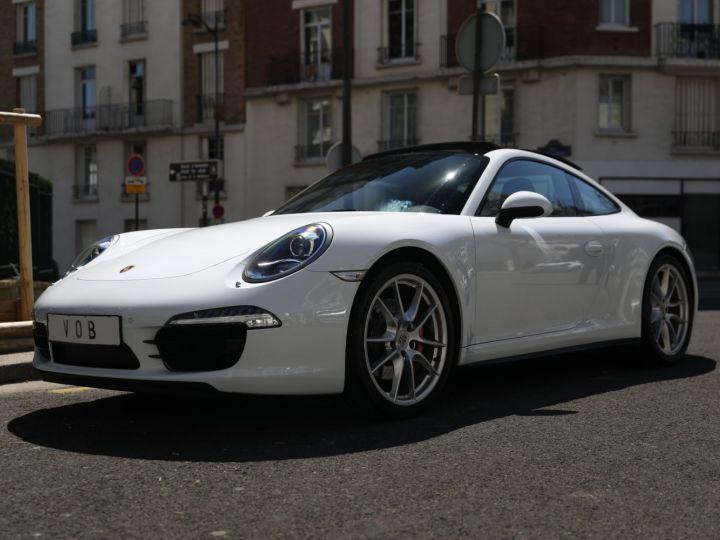 Porsche 991 PORSCHE 991 CARRERA 4S PDK Blanc - 1