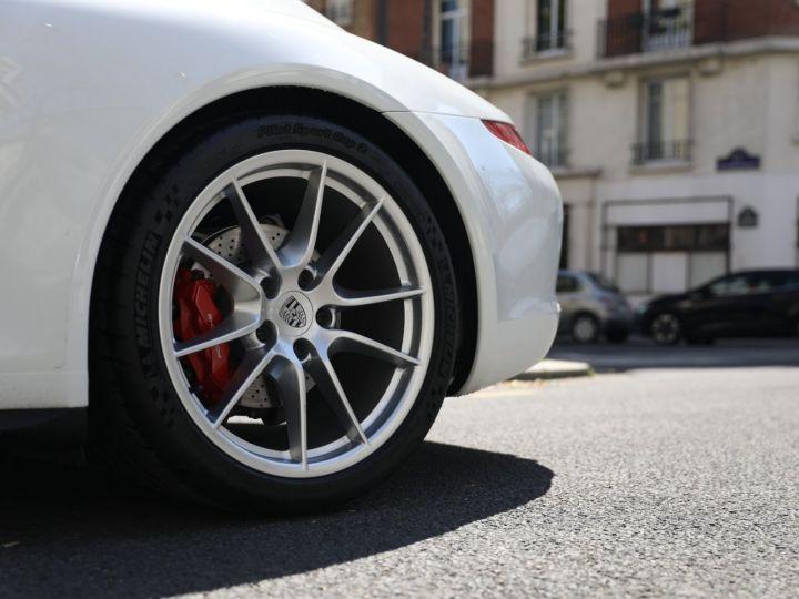 Porsche 991 PORSCHE 991 CARRERA 4S PDK Blanc - 11