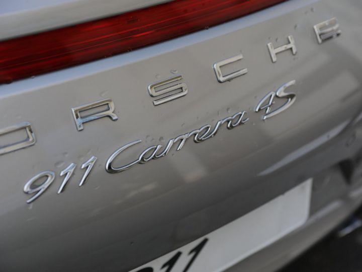 Porsche 991 PORSCHE 991 CARRERA 4S PDK 2014 Gris - 10