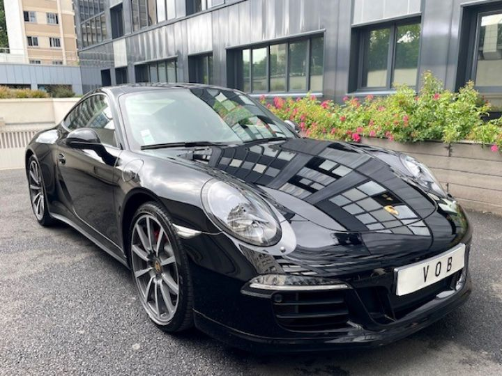 Porsche 991 PORSCHE 991 CARRERA 4S PDK 3.8 400 CV / SPORT DESIGN /PSE / 19700KMS EN ETAT NEUF Noir - 1