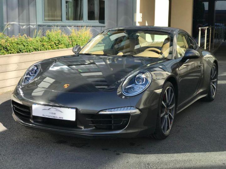 Porsche 991 PORSCHE 991 CARRERA 4S PDK 3.8 400CV /PDK /CHRONO/PSE/TOE/37000 KMS Gris Quartz - 1