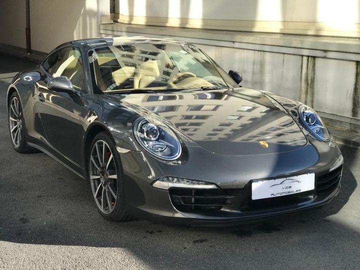 Porsche 991 PORSCHE 991 CARRERA 4S PDK 3.8 400CV /PDK /CHRONO/PSE/TOE/37000 KMS Gris Quartz - 6