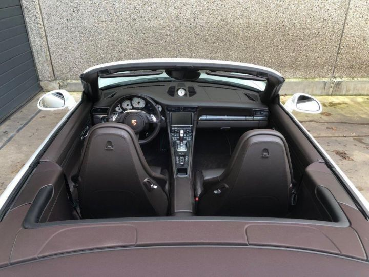 Porsche 991 PORSCHE 991 CARRERA 4S PDK CABRIOLET Blanc - 13