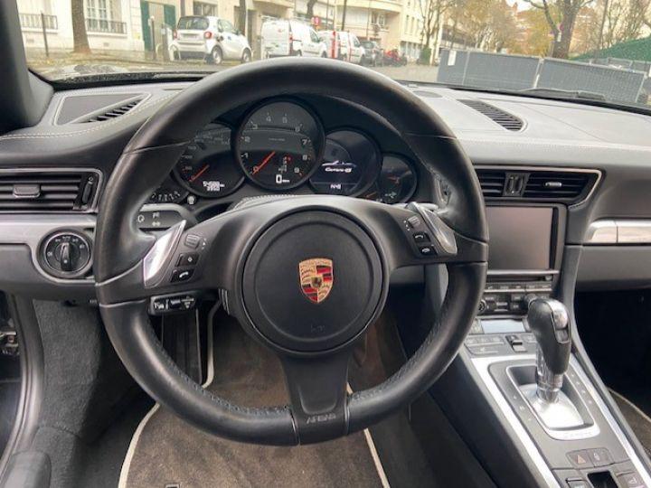Porsche 991 PORSCHE 991 CARRERA 4S PDK CABRIOLET ACC/PSE / EXCLUSIF Noir - 13